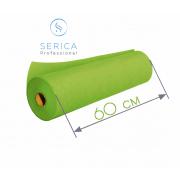 Одноразовые простыни в рулоне 0,6 х 100 м.,  23 гр/м2 (салатовый)