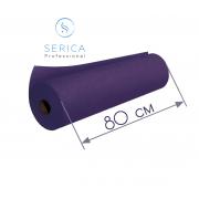 Одноразовые простыни в рулоне 0,8 х 100 м.,  23 гр/м2 (фиолетовый)