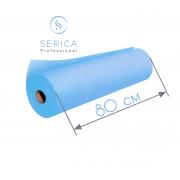Одноразовые простыни в рулоне 0,8 х 100 м.,  23 гр/м2 (голубой)