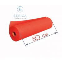 Одноразовые простыни в рулоне 0,8 х 100 м.,  23 гр/м2 (красный)