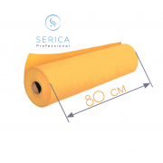 Одноразовые простыни в рулоне 0,8 х 100 м.,  23 гр/м2 (оранжевый)