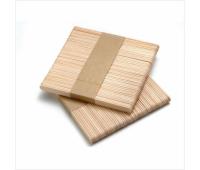 Шпатель  одноразовый деревянный, широкий (упаковка = 100шт)