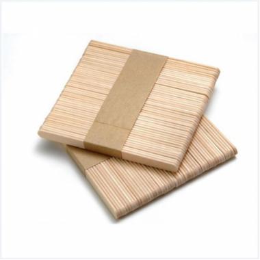 Шпатель  одноразовый деревянный, широкий (упаковка = 100шт, размер: 150*18*2мм)