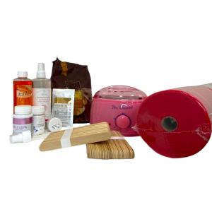 Набор для депиляции горячим воском с воскоплавом Pro-Waxx