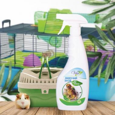 Моющее средство для лотков и клеток животных