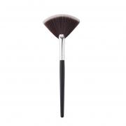 Кисть-веер для нанесения пудры и различных косметических кремовых масок