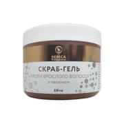 Скраб-гель против врастания волос Papain gel-scrub c папаином 350мл