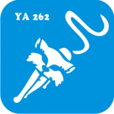 Трафарет для бодиарта Мир животных Кошечка код № YA 262