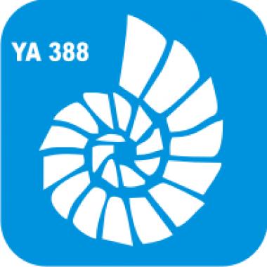 Трафарет для бодиарта Водный мир Ракушка код № YA 388