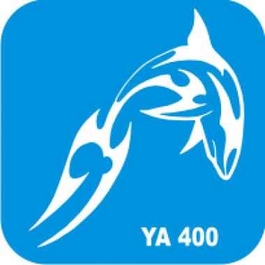 Трафарет для бодиарта Водный мир Дельфин код № YA 400