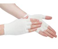 Подперчатки бесшовные (вязаные, Handy boo easy white, S)