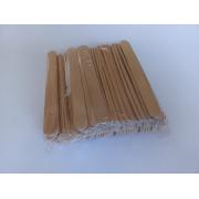 Шпатель деревянный узкий для лица 100 шт